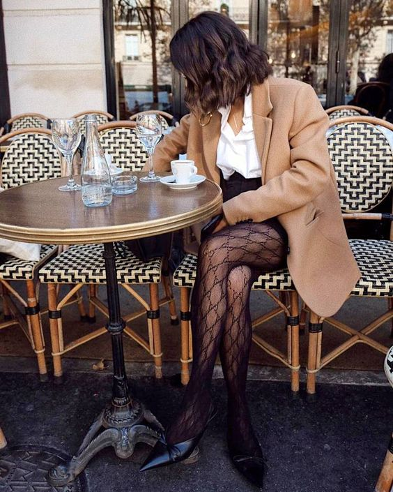 Style Guide To Wear Tights On Winter Days