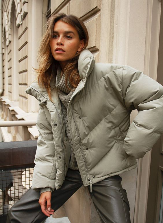 Chic Ways to Style Puffer Jacket This Winter