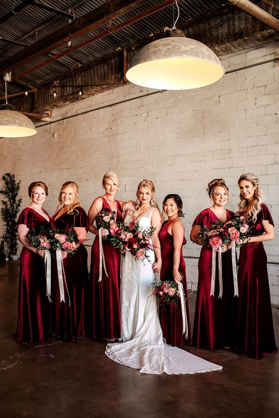 Winter Bridesmaid Dresses You Need This Season