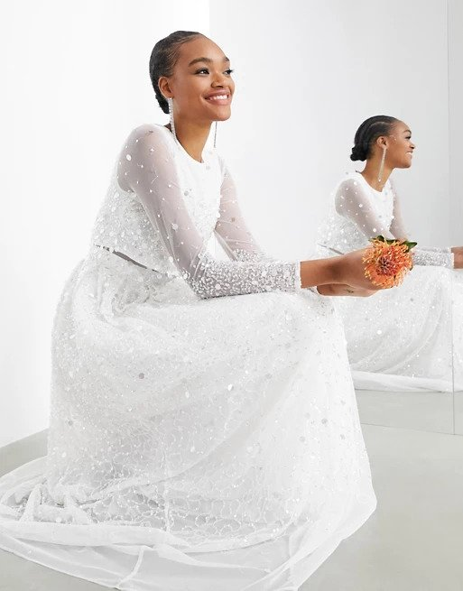 Elegant Winter Wedding Gown Ideas For Your Special Day