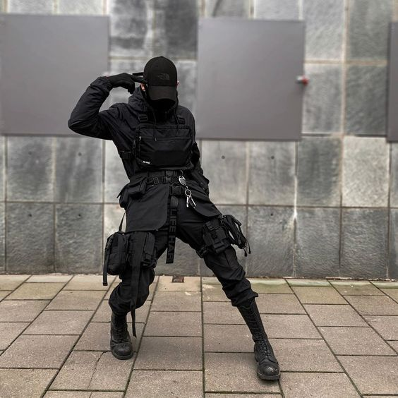 Cool Tactical Fashion Ideas For Streetwear