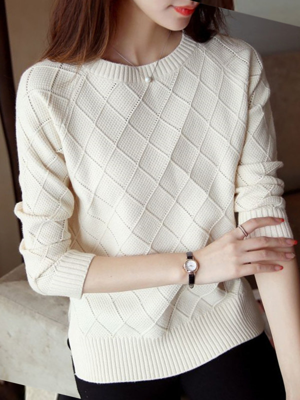 How to Style Pullover Sweater For Spring Outfit