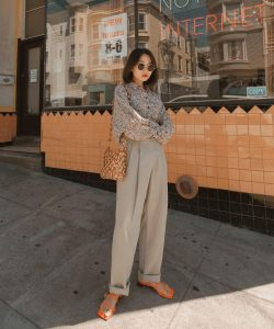 How To Style Basic Blouse For Everyday Office Looks