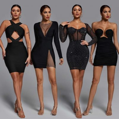 How To Style Bodycon Dresses To A Cocktail Party