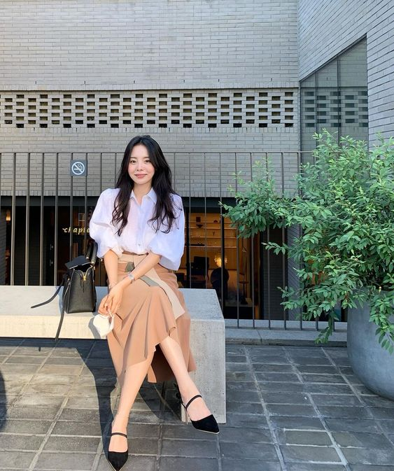 Classy Work From Office Outfit Styling Ideas Inspired By Korean Bloggers