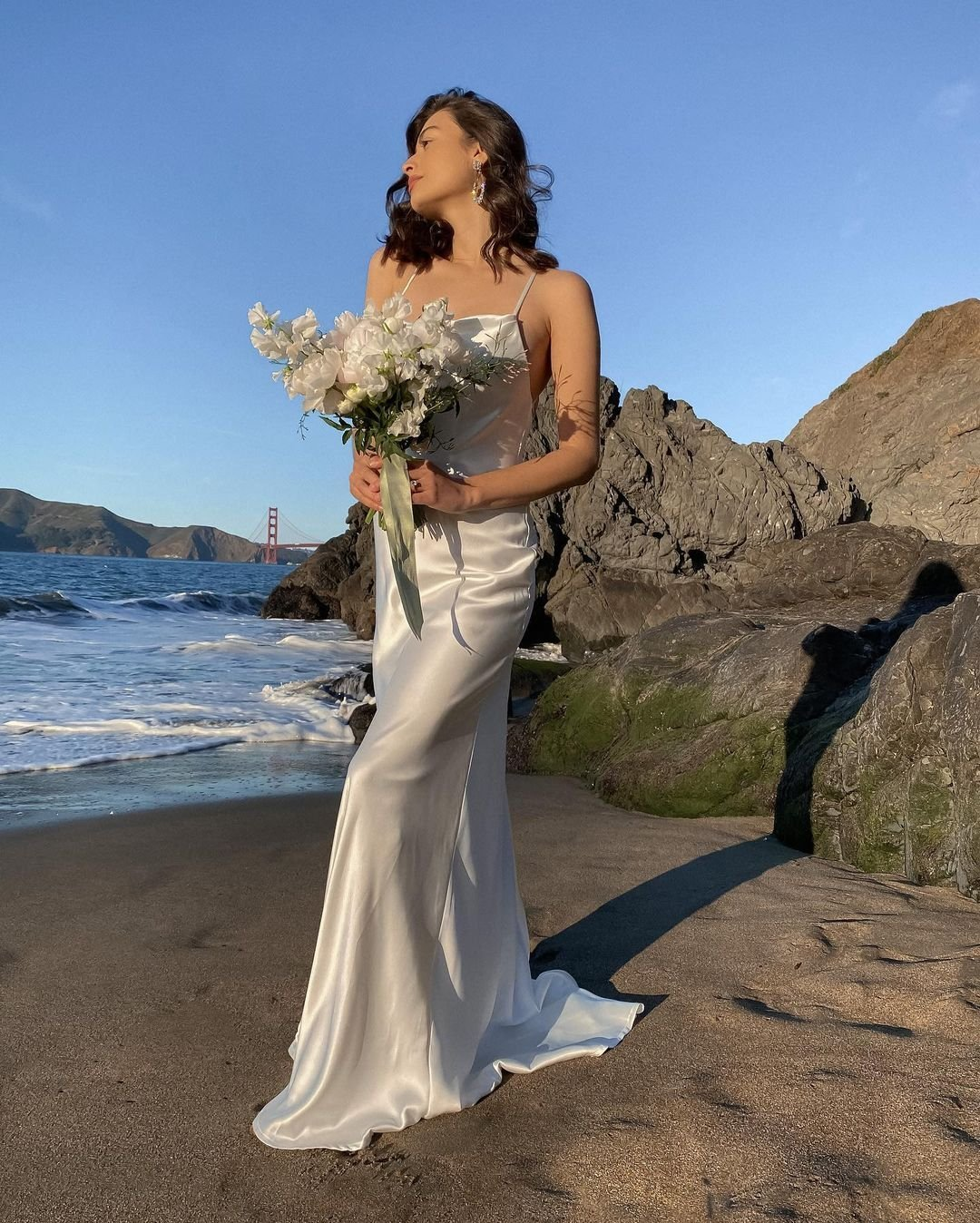 Minimalist Summer Wedding Dresses To Shop Right Now