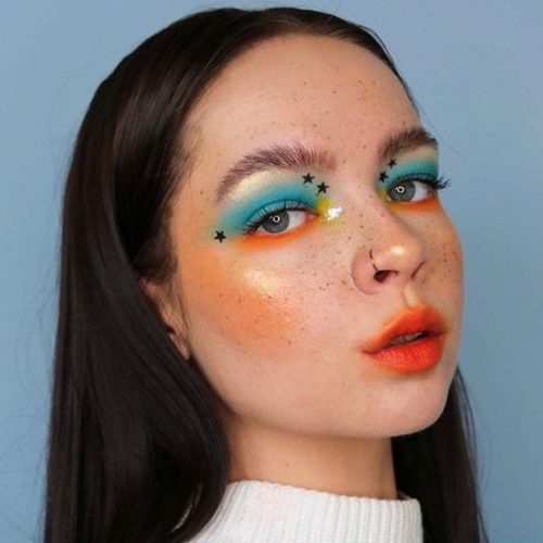 Creative Makeup Look Ideas That You Think This is A Filter!