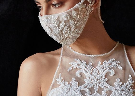 Comfy And Chic Wedding Face Mask You Should Buy From Etsy