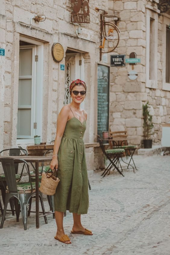Aesthetic Outfit Inspiration To Your Best Vacation Day