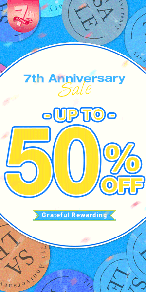 Newchic 7th anniversary sale 2021