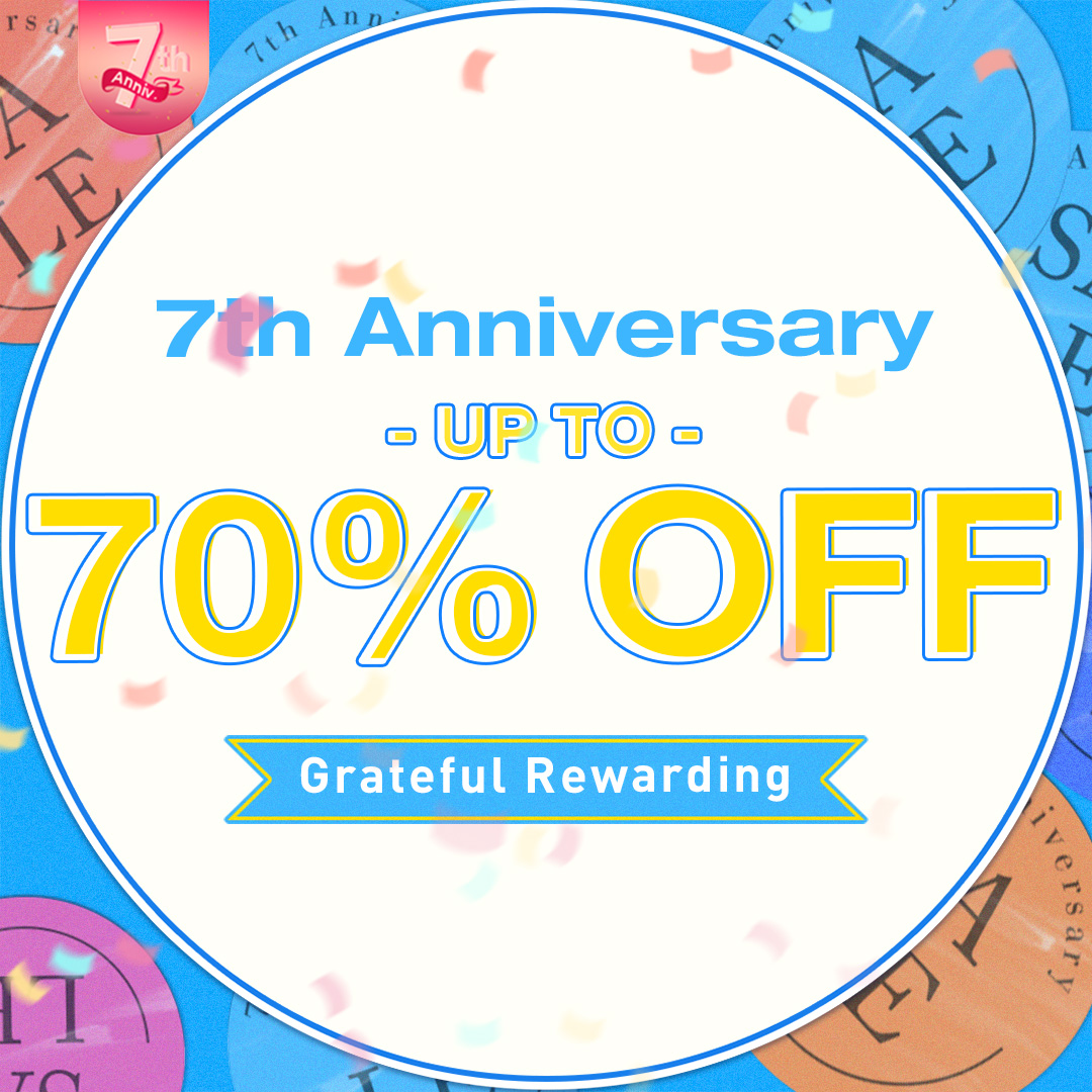 Get Ready For Newchic 7th Anniversary Sale – Get Up To 70% Off!