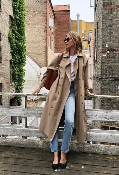 How to Style Oversized Trench Coat