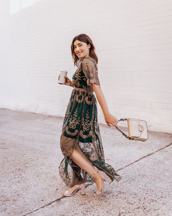 Perfect Wedding Guest Outfit According To 2021's Fall Trend